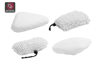 4 Piece Microfiber Pads for Kogan 13-in-1 Steam Mop