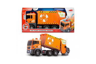 Dickie Toys 55cm Garbage Truck with Lights and Sounds