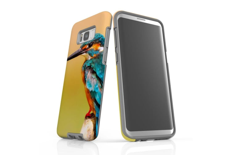 For Samsung Galaxy S8+ Plus Case  Armour Tough Cover  Kingfisher