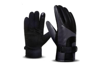 Stylish And Elegant Winter Warm Touch Screen Gloves For Men Grey