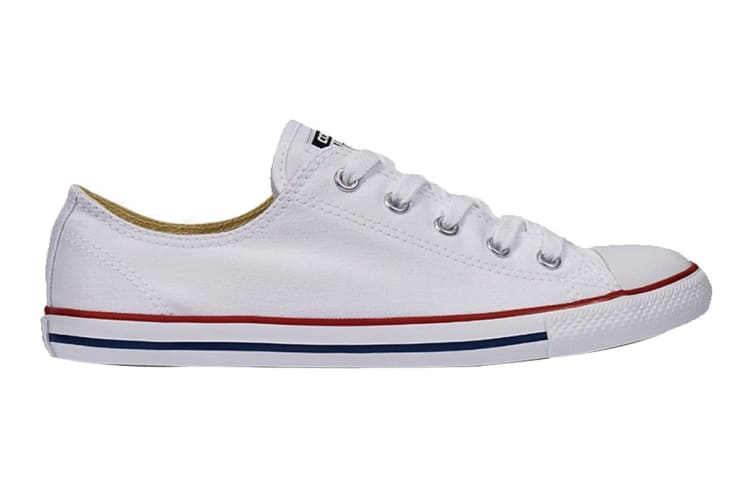 Converse Unisex Chuck Taylor All Star Dainty Ox (White, Size 6)
