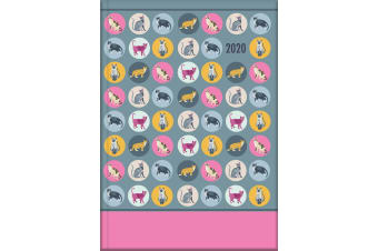 Spot the Cat - 2020 Diary Planner A5 Padded Cover by The Gifted Stationery