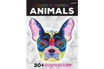 Color by Number: Animals - 30 Fun & Relaxing Color-by-Number Projects to Engage & Entertain