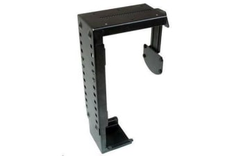Brateck XC-7 Under Desk Computer Mount - Black