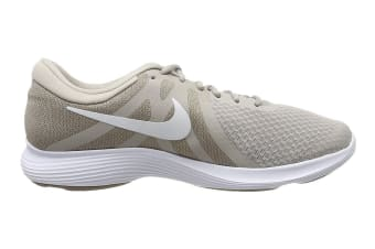 Nike Men's Revolution 4 Running Shoe (White/Stone, Size 10 US)