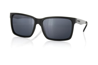 Carve The Island Adult Matt Black Sunglasses