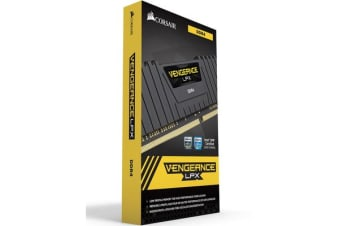 Corsair Vengeance LPX 16GB (2x8GB) DDR4 2666MHz C16 Desktop Gaming Memory Black AMD AM4 RYZEN