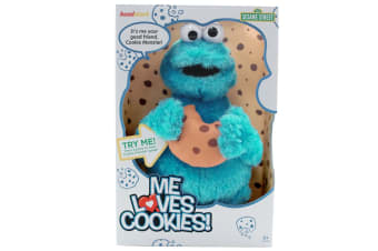 Sesame St Me Loves Cookies