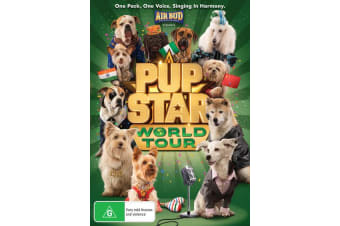 Pup Star World Tour DVD Region 4
