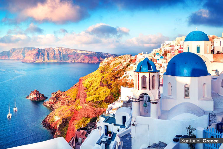 EUROPE: 20 Day Highlights of Italy & Greece Including 7 Nights Mediterranean Cruise + Flights for Two (Interior Cabin)