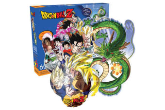 Dragon Ball Z Dragon and Collage Double Sided 600pc Puzzle