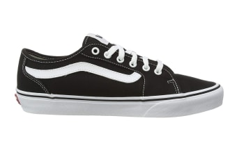 Vans Men's Filmore Decon Canvas Shoe (Black/True White, Size 7 US)