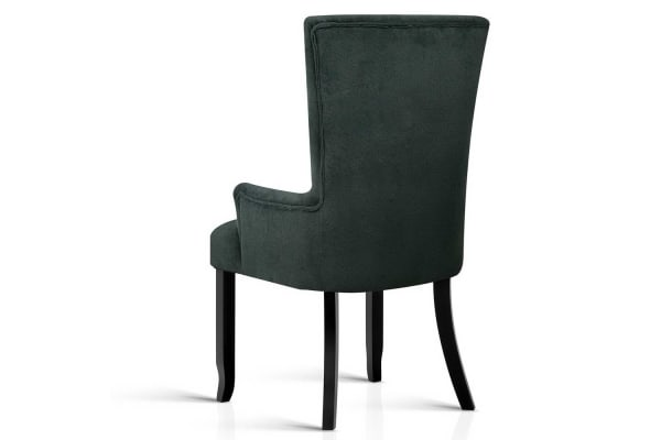 French Provincial Dining Chair (Grey)