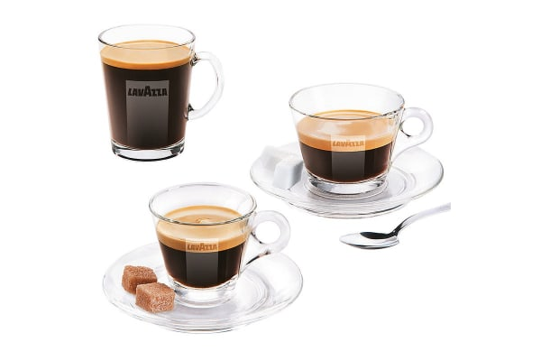 Lavazza A Modo Mio Fantasia Coffee Machine + 32 BONUS Capsules - Black