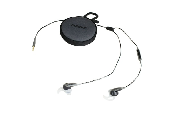 Bose SoundSport In-ear Headphones for Apple (Charcoal Black)