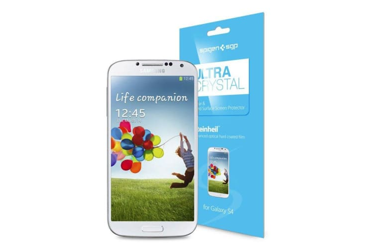 For Samsung Galaxy S4 Ultra Crystal SGP Top-Quality Transparent Screen  Protector