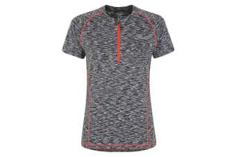 Dare 2B Womens/Ladies Incisive II Jersey Cycle Top (Grey)