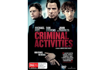 Criminal Activities DVD Region 4