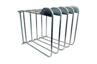 StableKit Rug Rack Three Arm (Silver) (One Size)
