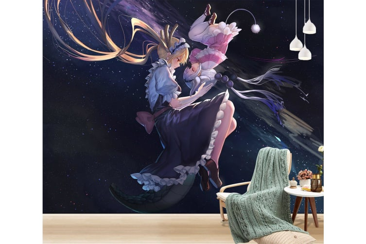 3D Maid Face To Face 33 Anime Wall Murals Woven paper (need glue), XXXXL 520cm x 290cm (WxH)(205''x114'')