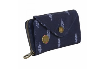 Regatta Womens/Ladies Elsie Travel Purse (Navy Knot)