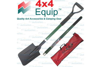 4x4 Equip Combo 3 Piece Recovery Shovel Tool 4wd Camping Outdoor Spade Off Road