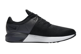 Nike Men's Air Zoom Structure 22 Shoes (Black/White)