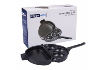 Omelette Pan Maker With Egg Poacher Foldable Non Stick Saucepan Fry