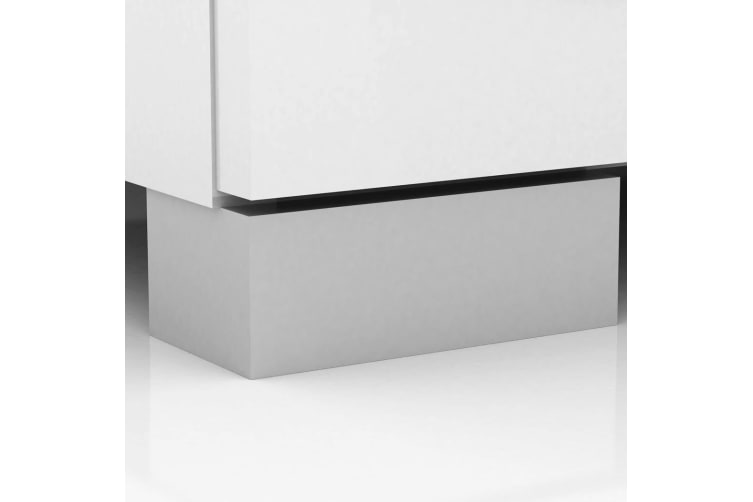 Tallboy Dresser 6 Chest of Drawers  Table Cabinet Bedroom High Gloss White