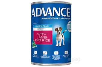 Advance Puppy Growth Lamb Rice Cans - 1can