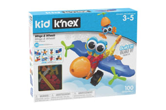 K'NEX Kid Wings & Wheels Building Set