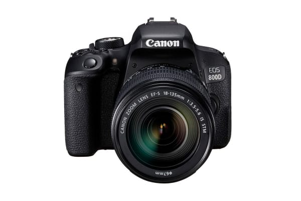 Canon EOS 800D DSLR Camera with EFS18-135mm IS USM Lens