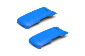 2x Ryze Snap On Top Cover Accessories Powered By DJI for Tello Drone/Camera Blue