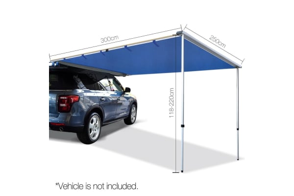 2.5X3M Car Awning (Navy)