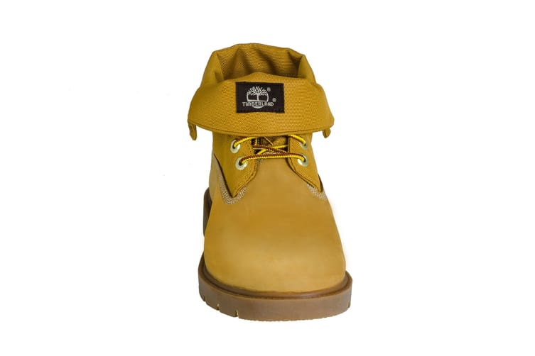 e82c2e0e8af Timberland Men's Icon Basic Roll Top Boots (Wheat Nubuck, Size 12 US) |  Shoes