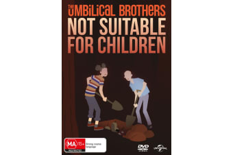 The Umbilical Brothers Not Suitable for Children DVD Region 4