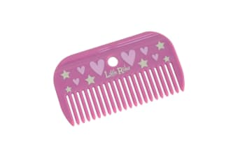 Little Rider Childrens/Kids Mane Comb (Cameo Pink)