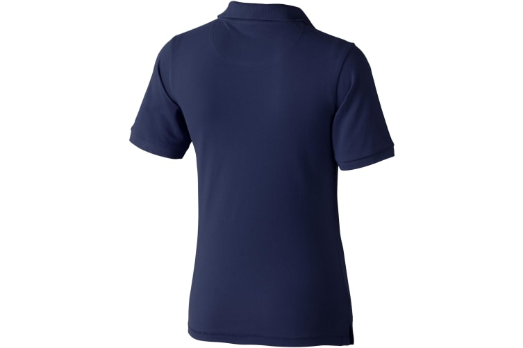 Elevate Calgary Short Sleeve Ladies Polo (Navy) (XS)