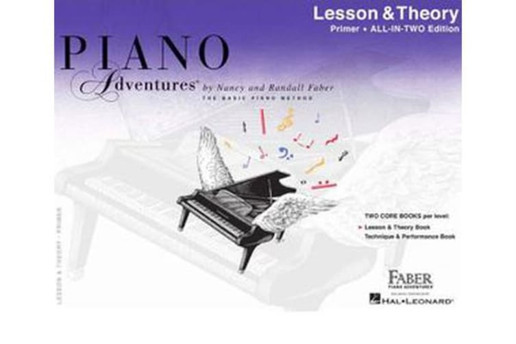 Piano Adventures - Lesson And Theory Book - Primer Level (Book Only)