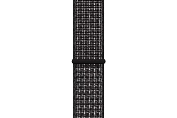 Apple Watch Nike+ Series 4 (Space Gray, 44mm, Black Nike Sport Loop, GPS Only)