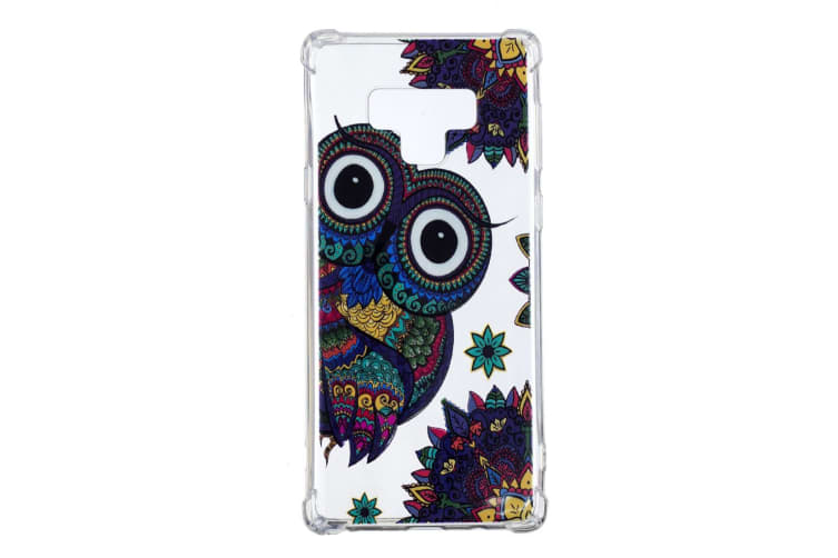 For Samsung Galaxy Note 9 Case Ultra Thin TPU Light Back Mobile Phone Cover Owl