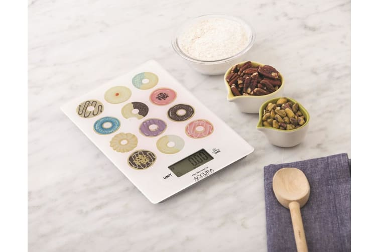 Accura Hypnos Electronic Kitchen Scale 5kg Donuts
