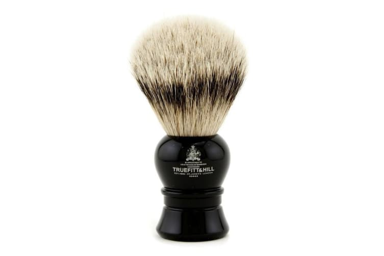 Truefitt & Hill Carlton Super Badger Shave Brush - # Ebony