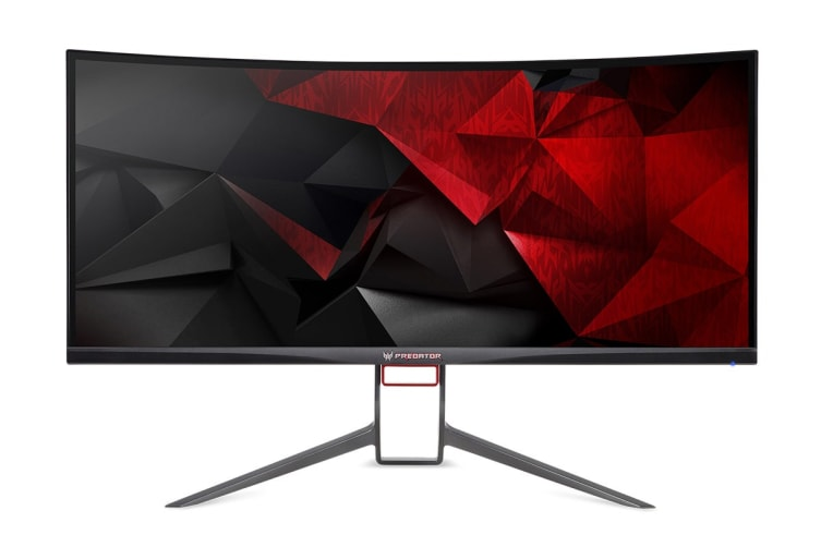 "Acer Predator X34P 34"" 21:9 3440x1440 QHD 100Hz Ultrawide Curved IPS Gaming Monitor with G-Sync (X34P)"