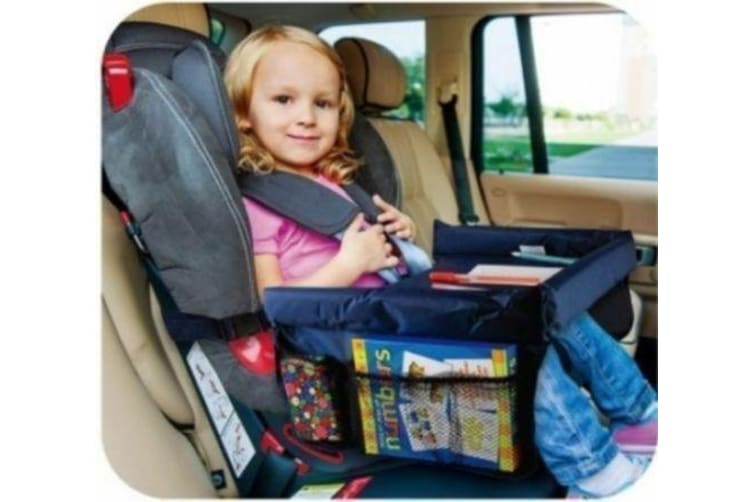 Car Waterproof Safety Seat Snack & Play Lap Tray Portable Table Kid Travel