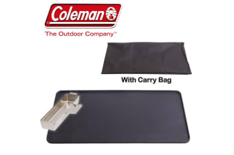 COLEMAN GRIDDLE HOT PLATE & GREASE CUP FULL SIZE SUIT EVENTEMP STOVE COOKER NEW