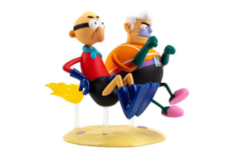 SpongeBob SquarePants Mermaid Mn & Barnacle Boy Md Vinyl Fig