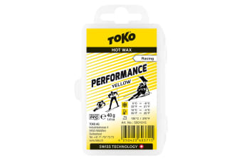 Toko Wax Performance Hot Wax Yellow 40G