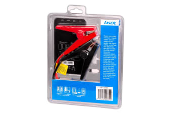 Laser 6000mah Emergency Power Bank with Clippers for Car Battery