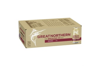 Great Northern Original Lager Beer 24 x 375mL Cans